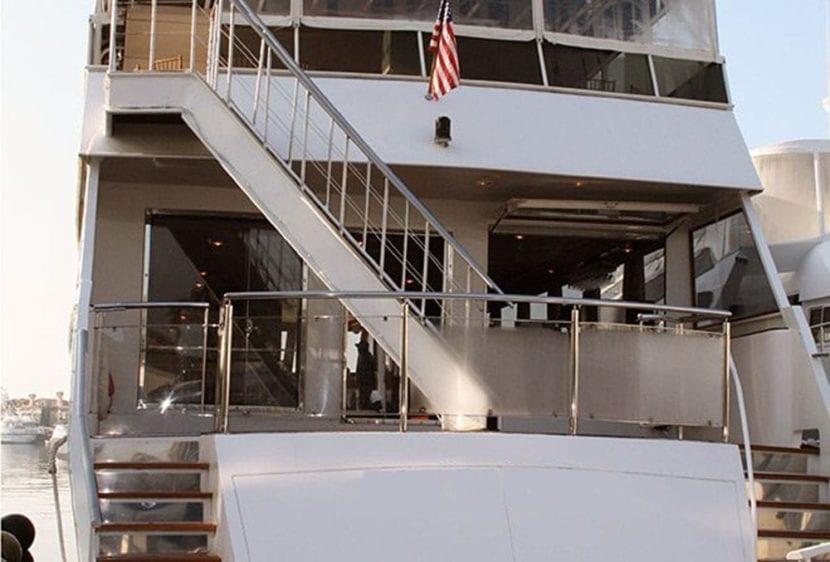 Newport Beach Yacht Rentals 110' Seacraft Stern