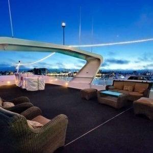 Newport Beach Yacht Rentals 128' Skipperliner