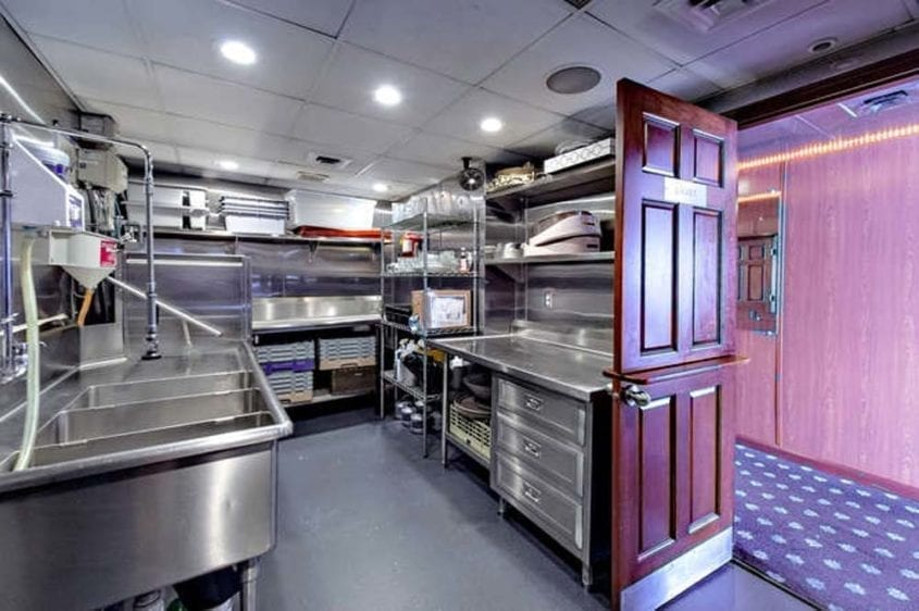 Newport Beach Yacht Rentals 128' Skipperliner Galley 1