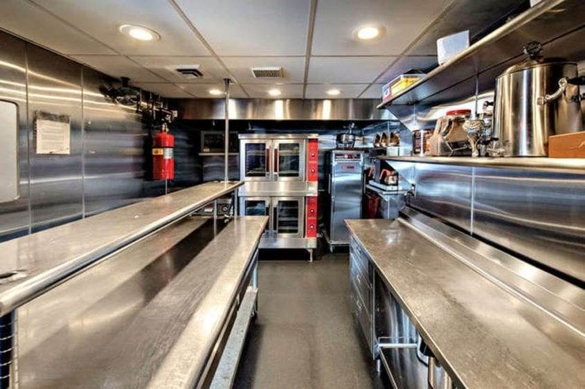 Newport Beach Yacht Rentals 128' Skipperliner Galley 3