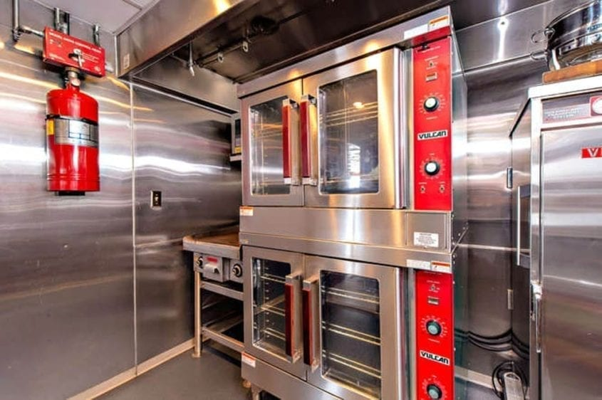 Newport Beach Yacht Rentals 128' Skipperliner Galley Ovens