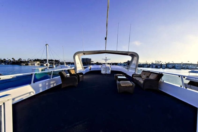 Newport Beach Yacht Rentals 128' Skipperliner Upper Deck