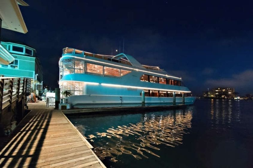 Newport Beach Yacht Rentals 128' Skipperliner Upper Profile