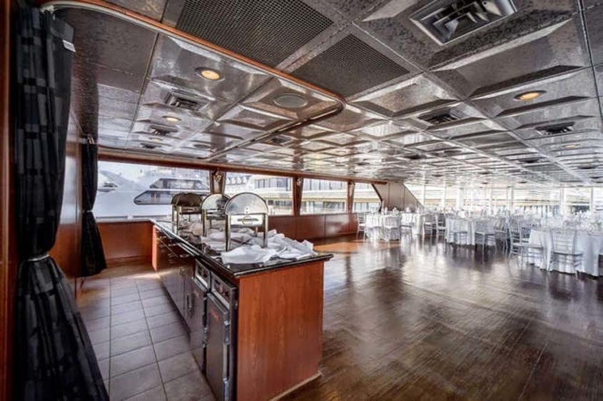 Newport Beach Yacht Rentals 128' Skipperliner Wedding Catering 2