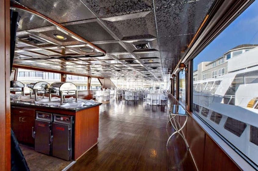 Newport Beach Yacht Rentals 128' Skipperliner Wedding Catering