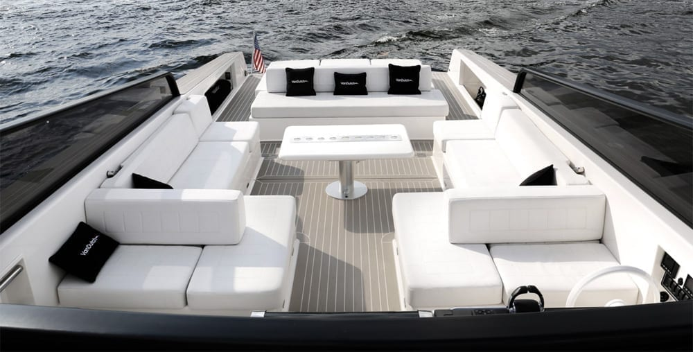 Yacht Rental Newport Beach 40' Van Dutch Seating
