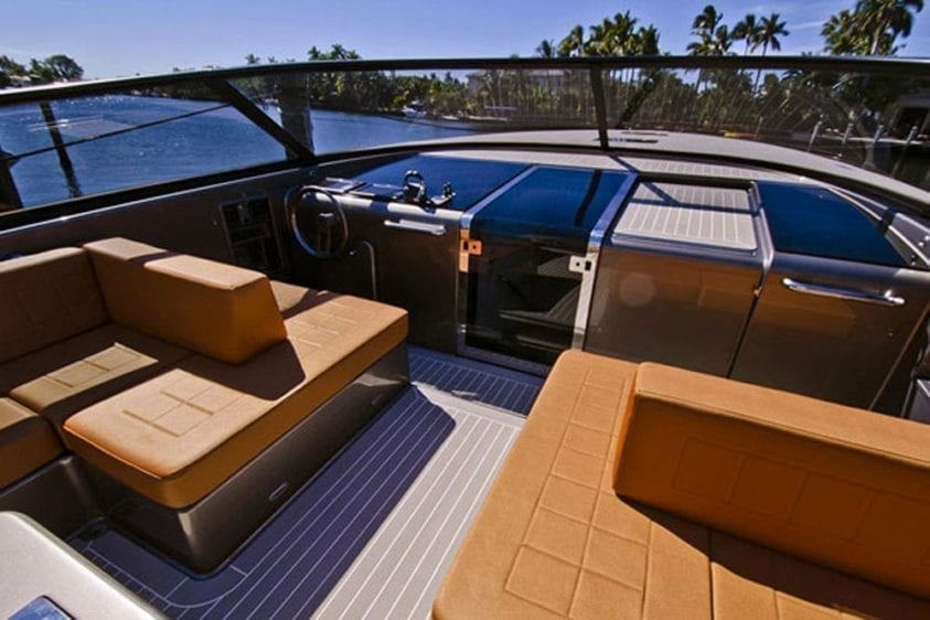 Newport Beach Yacht Rentals 55' Van Dutch Seating