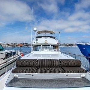 Newport Beach Yacht Rentals 61' Chris Craft 01