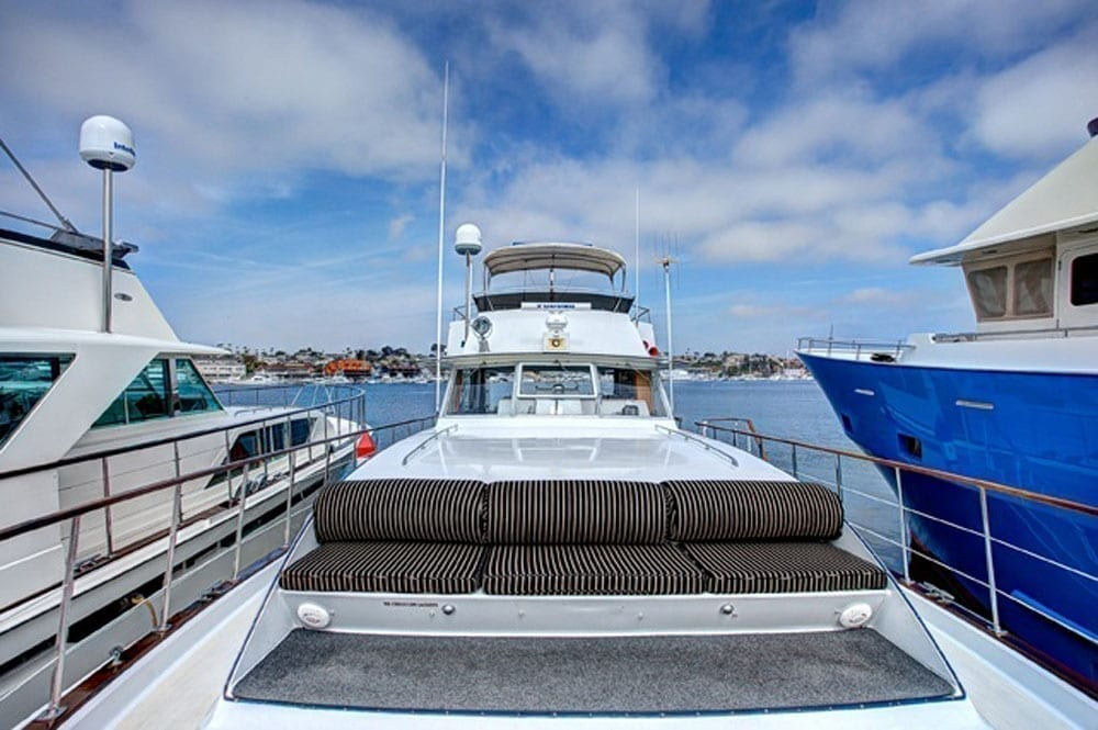 yacht charter newport beach 61' Chris Craft