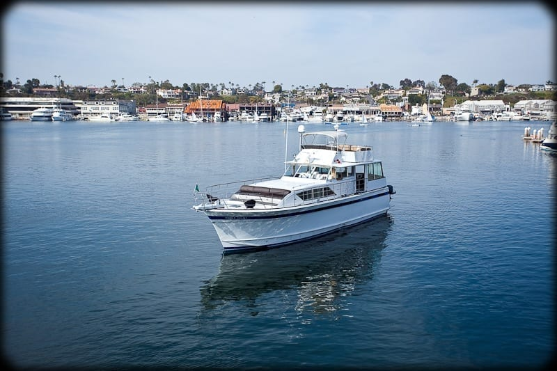 yacht charter newport beach 61' Chris Craft Cruise
