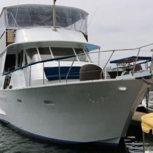 Newport Beach Yacht Rentals 65' Chris Craft 01