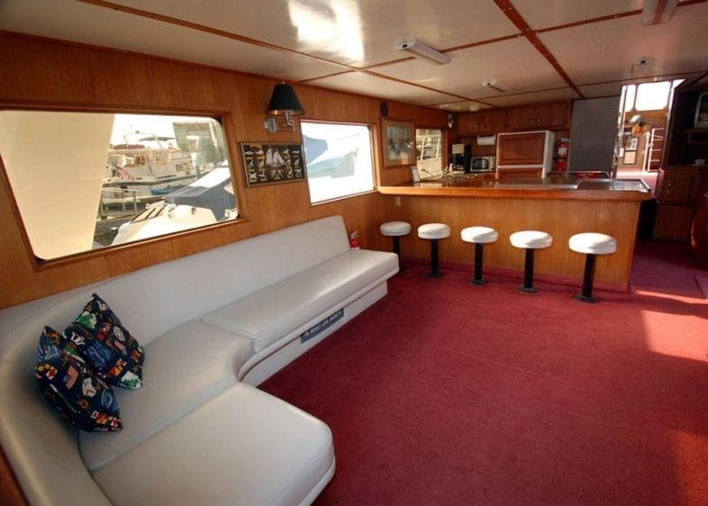 Newport Beach Yacht Rentals 65' Willard Bar
