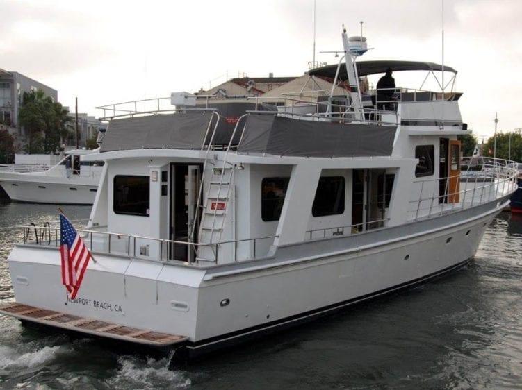 Newport Beach Yacht Rentals 65' Willard Stern