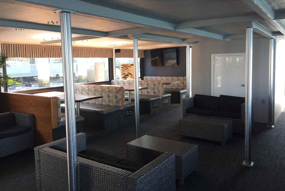 Newport Beach Catamaran Charter 72' Corinthian Interior Seating