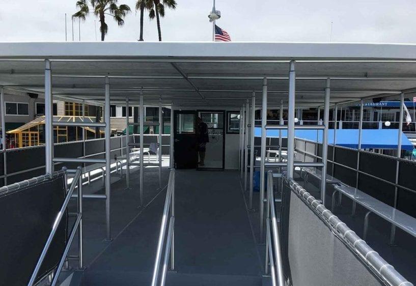 Newport Beach Yacht Rentals 72' Corinthian Upper Deck