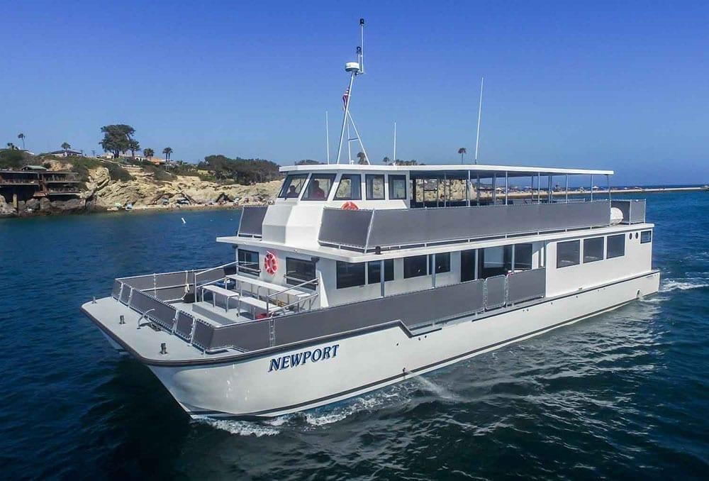 Newport Beach Catamaran Charter 72' Corinthian