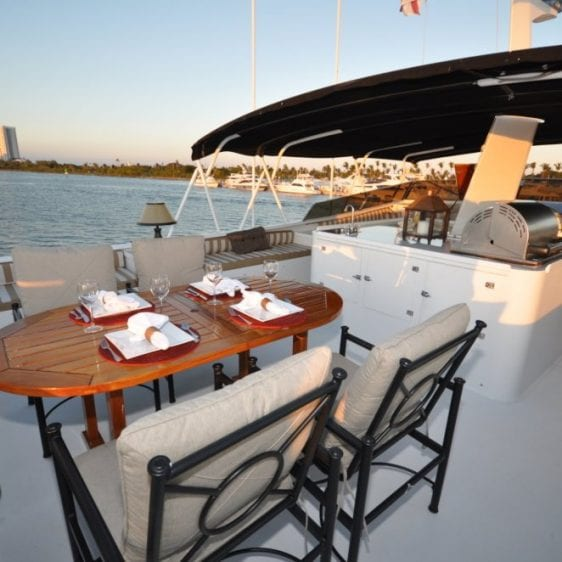 Oahu Private Yacht charter--17