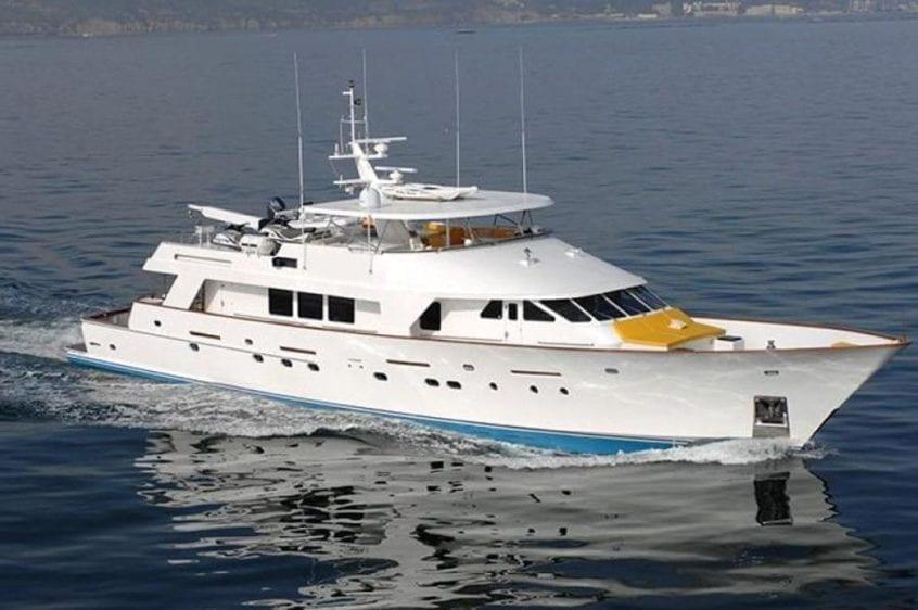 San Diego Yacht Rentals 115' Christensen