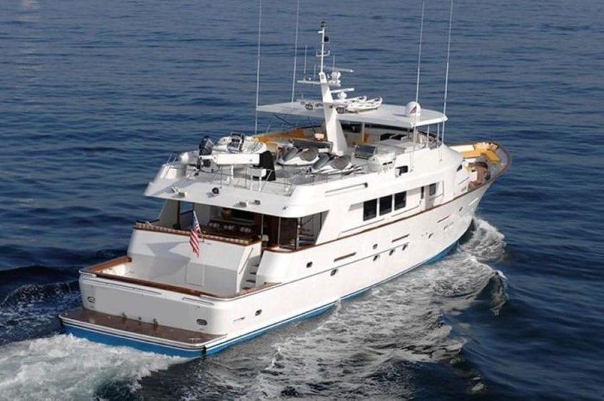 San Diego Yacht Rentals 115' Christensen Cruising