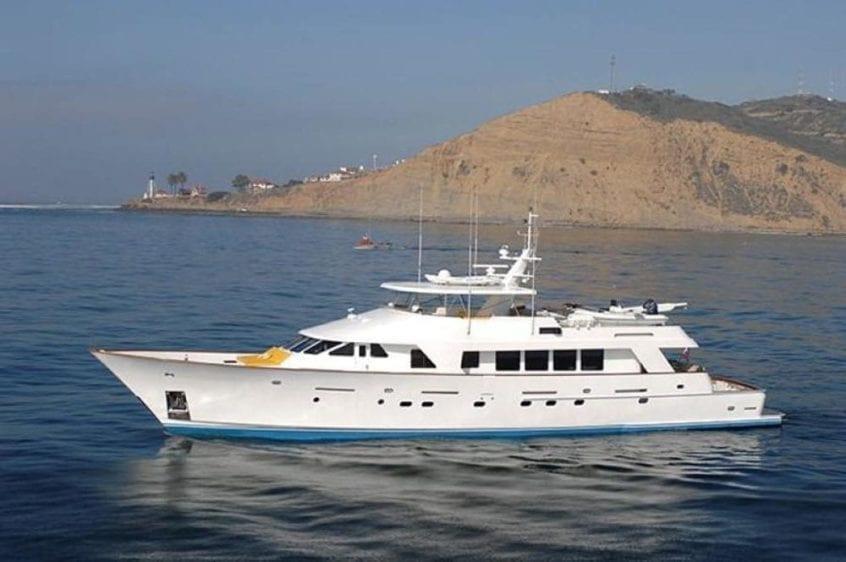 San Diego Yacht Rentals 115' Christensen Port Profile