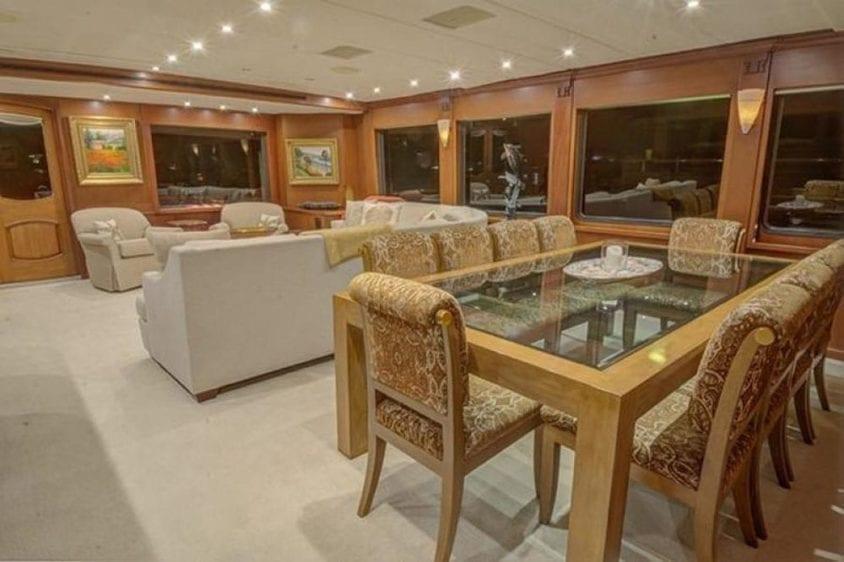 San Diego Yacht Rentals 115' Christensen Salon