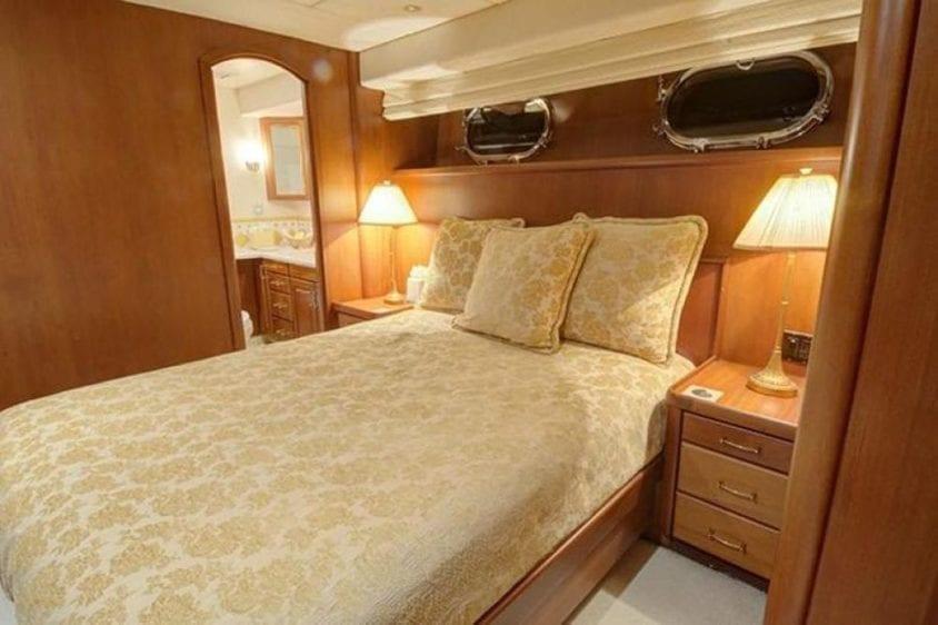 San Diego Yacht Rentals 115' Christensen Stateroom