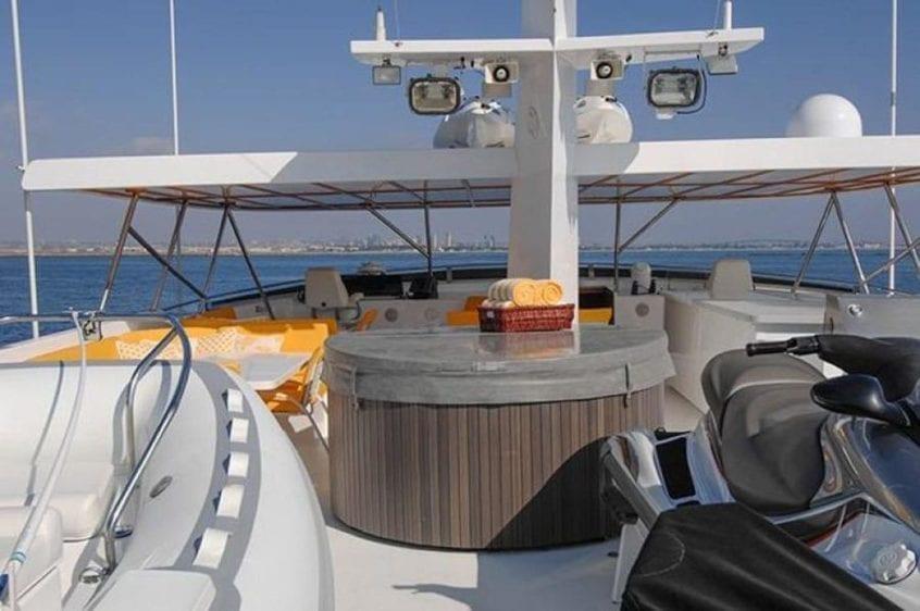 San Diego Yacht Rentals 115' Christensen Upper Deck