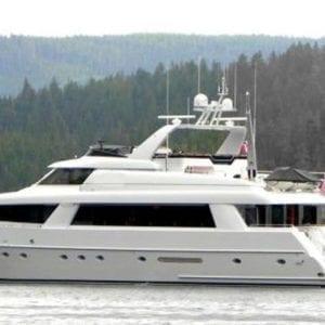 San Diego Yacht Rentals 118' Westport