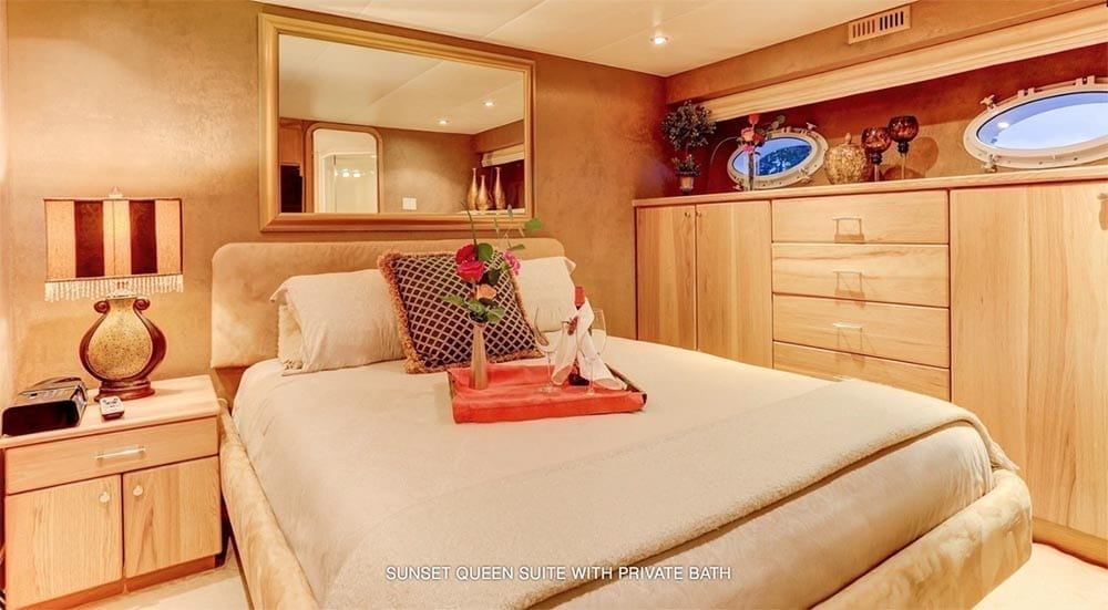 San Diego Yacht Rentals 118' Westport Sunset Suite