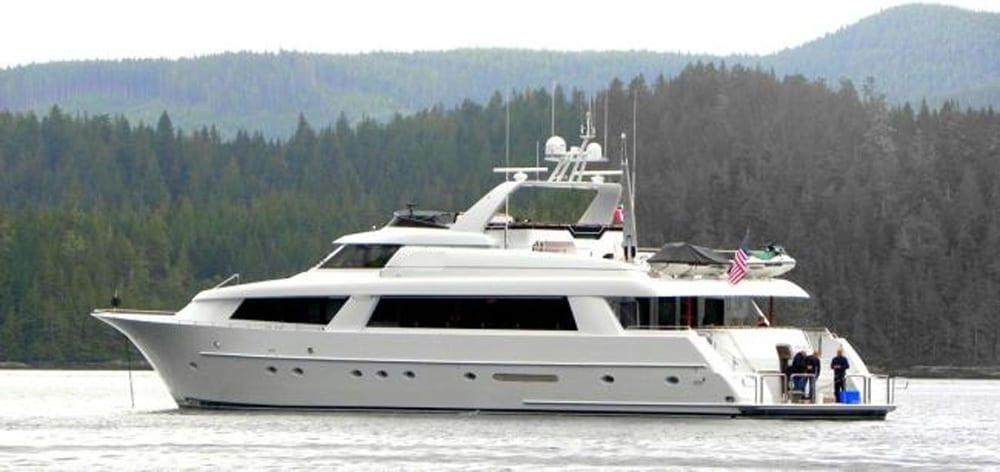 yacht charter San Diego 118' Westport