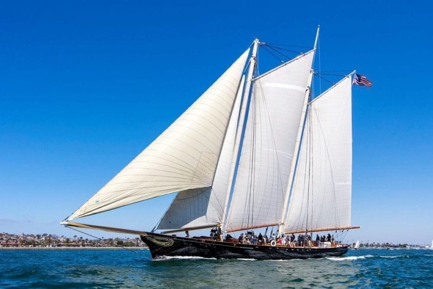 San Diego Yacht Rentals 139' America