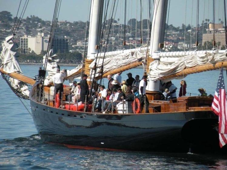 San Diego Yacht Rentals 139' America Cruise