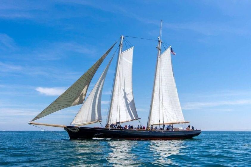 San Diego Yacht Rentals 139' America Profile