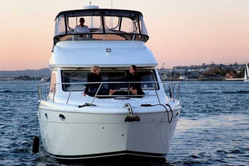 San Diego Yacht Rentals 46' Meridian Bow