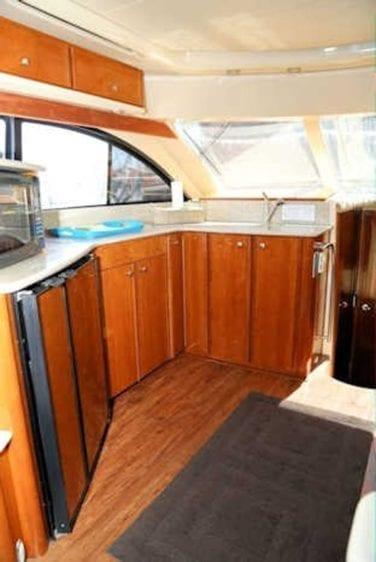 San Diego Yacht Rentals 46' Meridian Galley