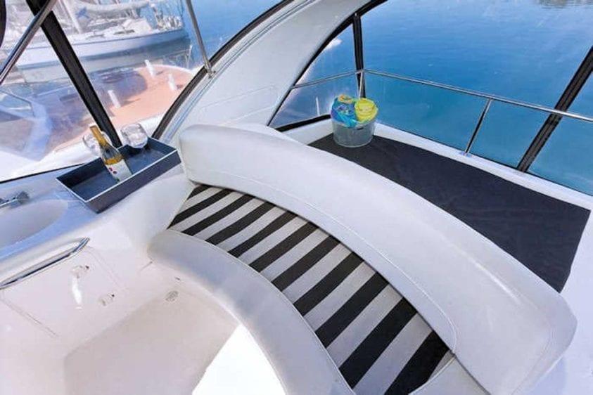 San Diego Yacht Rentals 46' Meridian Upper Deck