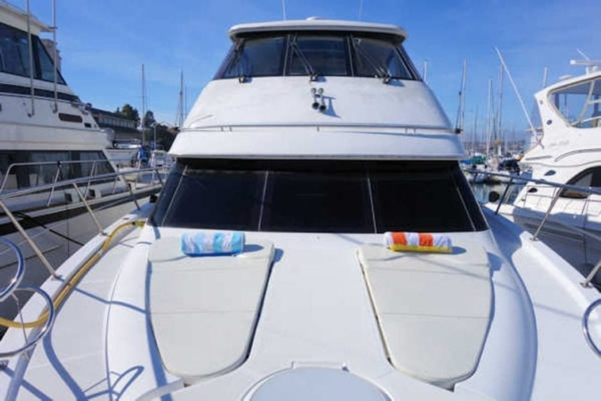 San Diego Yacht Rentals 56' Carver Bow