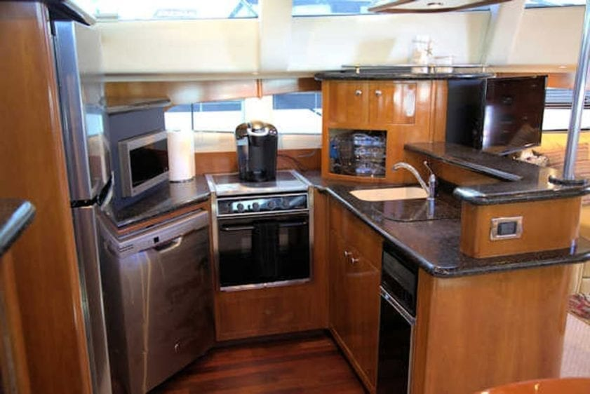 San Diego Yacht Rentals 56' Carver Galley