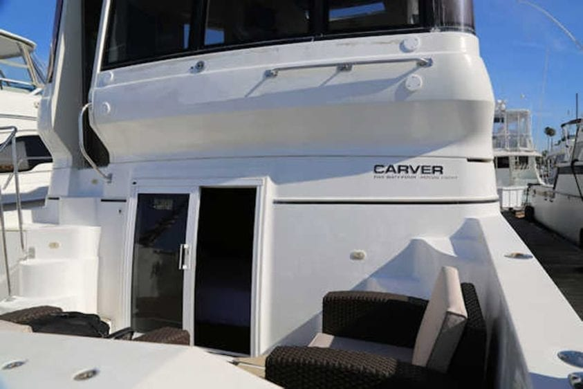 San Diego Yacht Rentals 56' Carver Stern