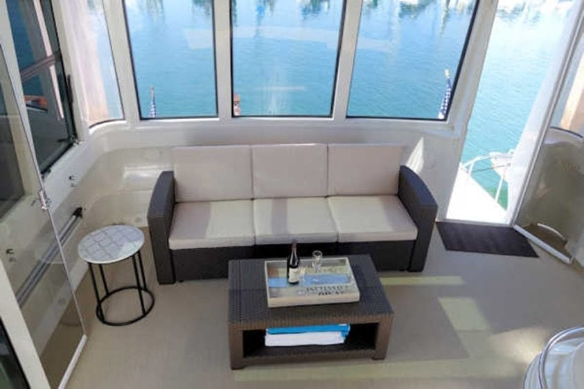 San Diego Yacht Rentals 56' Carver Sternroom 1
