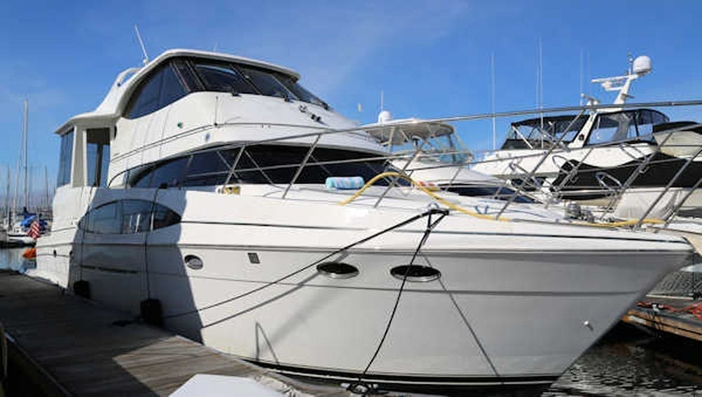 yacht charters San Diego 56' Carver