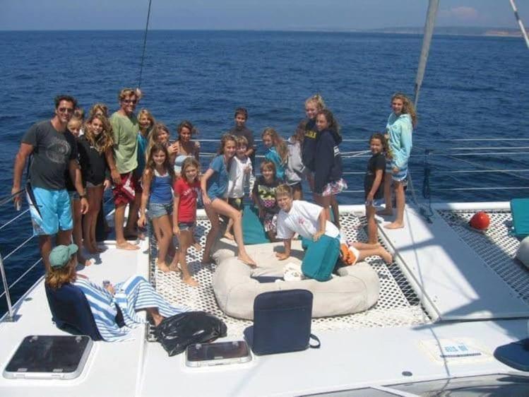 San Diego Yacht Rentals 58' Sunchaser Bow 2