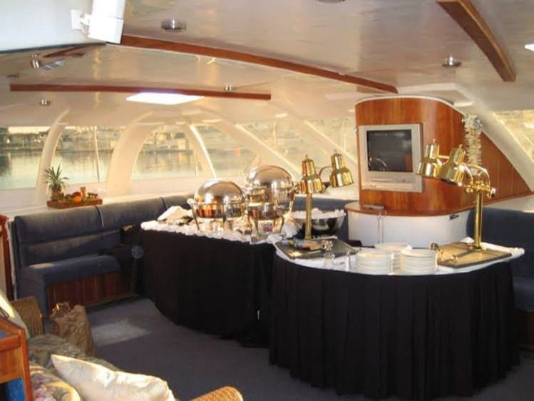 San Diego Yacht Rentals 58' Sunchaser Catering