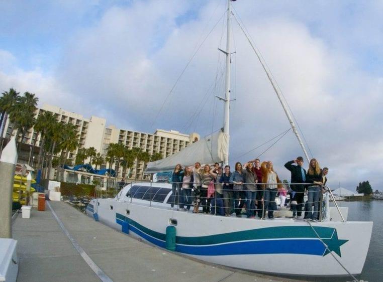San Diego Yacht Rentals 58' Sunchaser Dockside