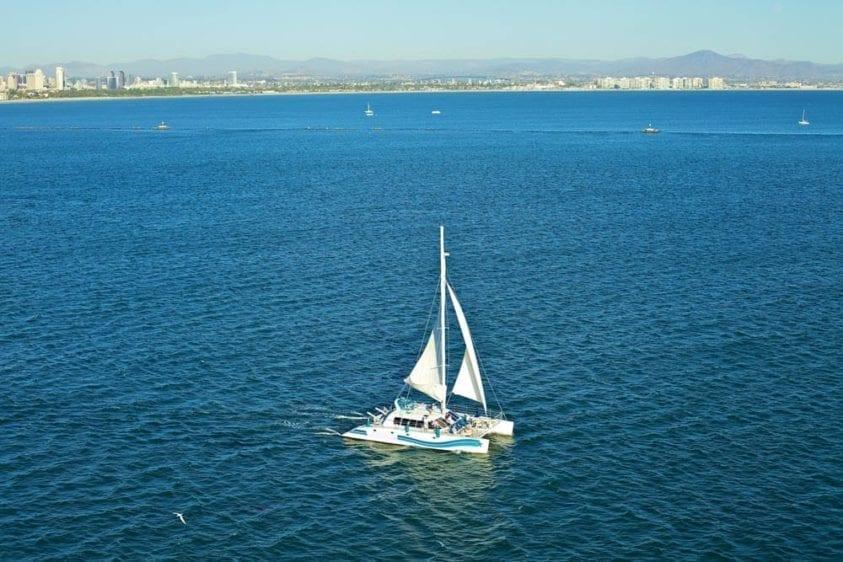 San Diego Yacht Rentals 58' Sunchaser Sailing