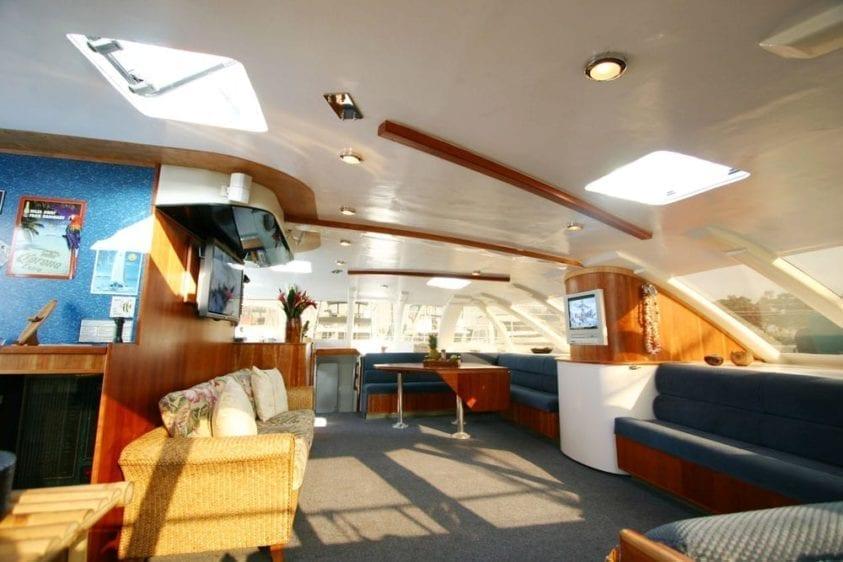 San Diego Yacht Rentals 58' Sunchaser Salon