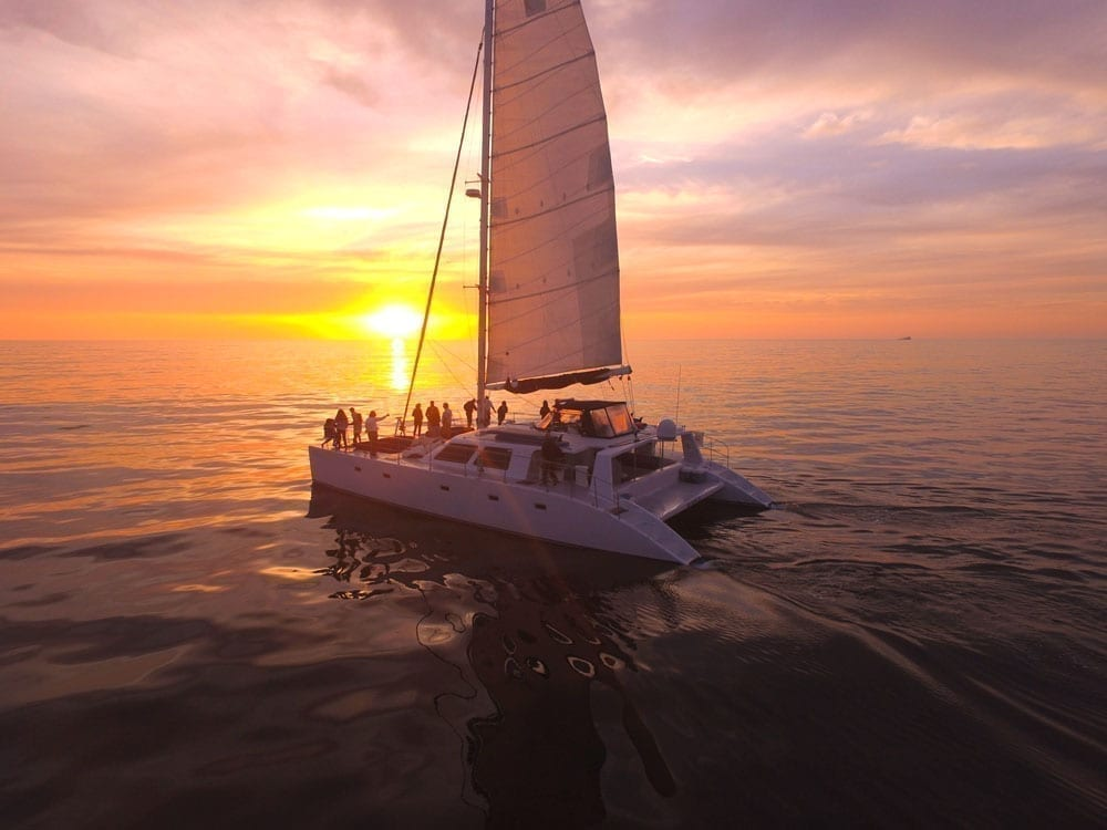San Diego catamaran charter 60' Catamaran
