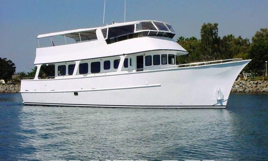 San Diego Yacht Rentals 60' Jjak