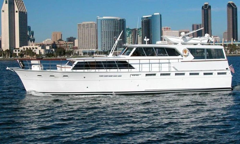 Yacht Rental San Diego 60' Pacemaker