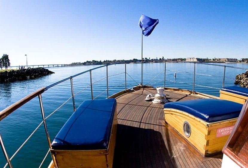 San Diego Yacht Rentals 72' Mathis Bow